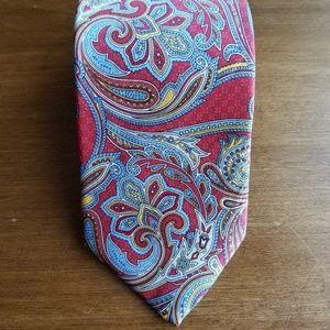 Robert Talbott gorgeous paisley silk tie